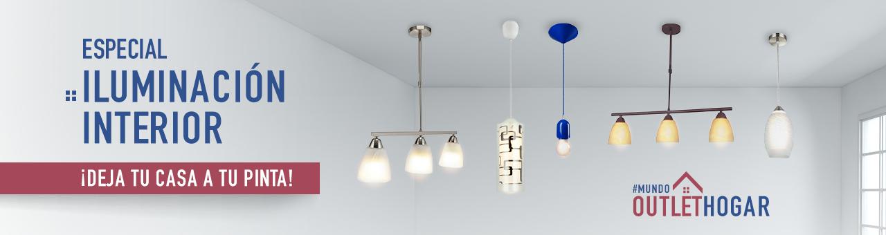 Especial Iluminación Interior ¡Deja tu casa a tu pinta! #mundooutlethogar