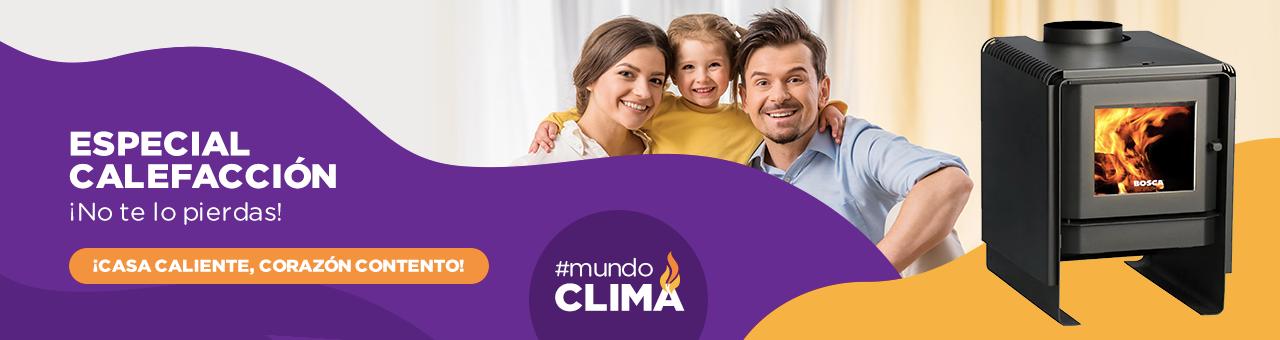 Especial Calefacción ¡No te lo pierdas! ¡Casa caliente, corazón contento! Hasta un 50% de descuento. #mundoclima