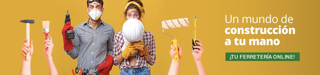 Un mundo de construcción en tu mano ¡Tu ferretería online!