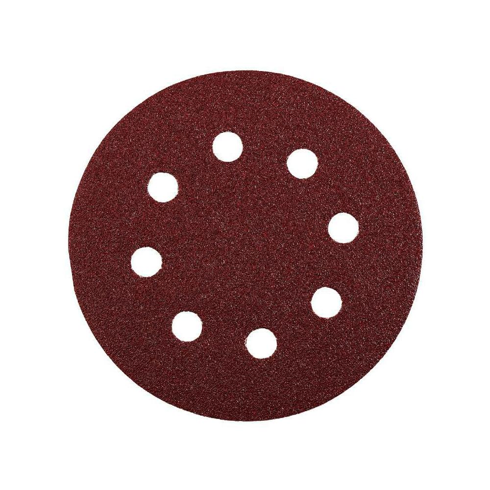 Disco lija para lijadora excentrica grano 80 - 125mm